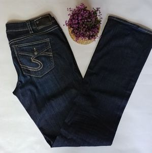 Silver Jeans Classic Stretch Bootcut Size 14